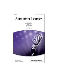 Arr. Ryan O'Connell: Autumn Leaves Livre | SATB
