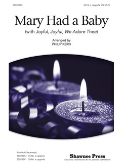 Lugwig Van Beethoven/Spiritual: Mary Had A Baby (With Joyful, Joyful, We Adore Thee) - SATB Books | SATB