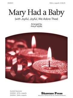 Lugwig Van Beethoven/Spiritual: Mary Had A Baby (With Joyful, Joyful, We Adore Thee) - SSAA Books | SSAA