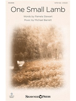 Michael Barrett: One Small Lamb Books | SATB, Piano Accompaniment, Flute, Percussion