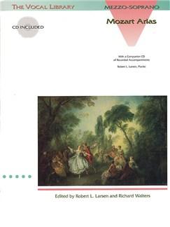 Mozart: Arias for Mezzo-Soprano CD et Livre | Accompagnement Piano