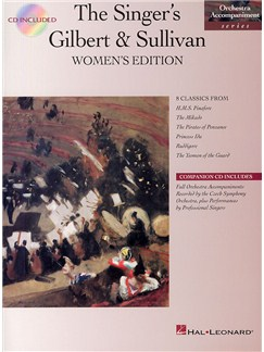 The Singer's Gilbert And Sullivan Women's Edition Books and CDs | Voice, Piano