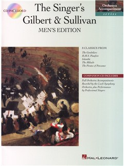 The Singer's Gilbert And Sullivan - Men's Edition Books and CDs | Voice, Piano