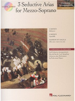 3 Seductive Arias For Mezzo-Soprano Books and CDs | Mezzo-Soprano, Piano