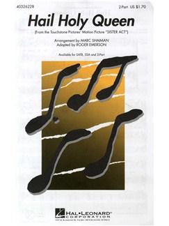 Hail Holy Queen (2 Part) Livre | Choeur En 2-Parties, Accompagnement Piano