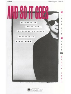 Billy Joel: And So It Goes (SATB) Books | SATB