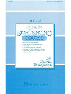 The Jenson Sight Singing Course: Student Book (Vol. I) Books | Choral