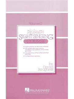 The Jenson Sight Singing Course: Student Book (Vol. II) Books | Choral