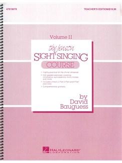 The Jenson Sight Singing Course: Teacher's Book (Vol. II) Books | Choral