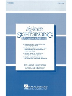 The Jenson Sight Singing Course: Part Exercises (Vol. I) Books | Choral