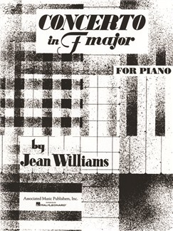 Jean Williams: Concerto In F Books | Piano