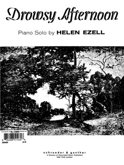 Helen Ezell: Drowsy Afternoon Books | Piano