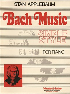 Stan Applebaum: Bach Simple Style Books | Piano