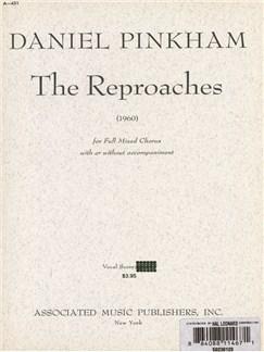 Daniel Pinkham: The Reproaches (1960) Books | Choral, SATB, Organ Accompaniment
