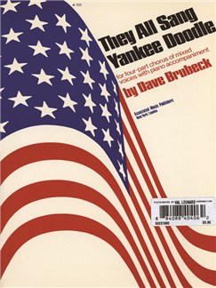 Dave Brubeck: They All Sang Yankee Doodle Books   Choral, SATB, Piano Accompaniment