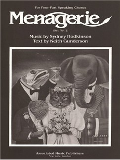 Sydney Hodkinson: Menagerie (Set No. 2) Books | SATB