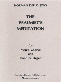 Norman Dello Joio: The Psalmist's Meditation Books | Choral, SATB, Piano Accompaniment