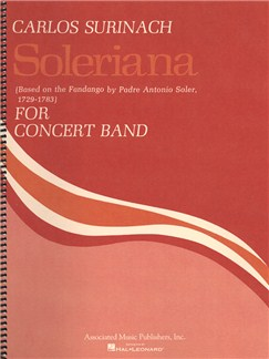 Carlos Surinach: Soleriana - Full Score Books | Big Band & Concert Band