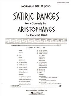 Norman Dello Joio: Satiric Dances Books | Big Band & Concert Band