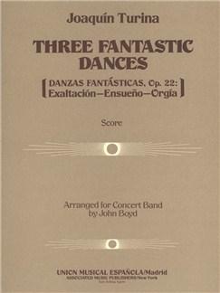 Joaquin Turina: Three Fantastic Dances, Op. 22 Books | Big Band & Concert Band