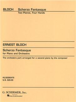 Ernest Bloch: Scherzo Fantasque Books | Piano Duet