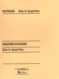 Einojuhani Rautavaara: Music For Upright Piano Books | Piano