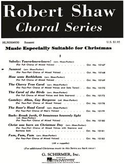 Arr. Robert Shaw/Alice Parker: Susanni Books | Choral, SATB