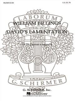 William Billings: David's Lamentation Books | Choral, SATB