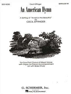 Cecil Effinger: An American Hymn Books | Choral, SATB, Organ Accompaniment