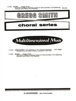 Gregg Smith: Babel Books | SATB, Piano Duet