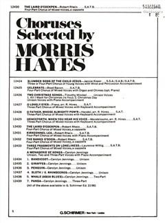 Arr. Robert Rhein: The Laird O'Cockpen Books | Choral, SATB