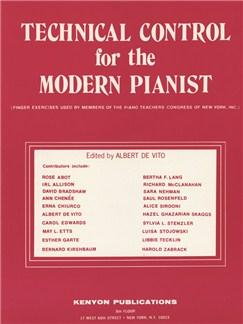 Albert De Vito: Technical Control For The Modern Pianist Books | Piano