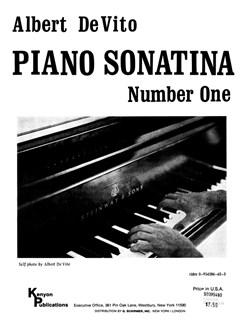 Albert De Vito: Sonatina No. 1 Books | Piano