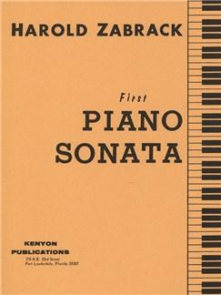 Harold Zabrack: First Piano Sonata Books | Piano