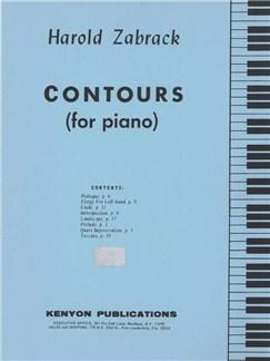 Harold Zabrack: Contours Books | Piano