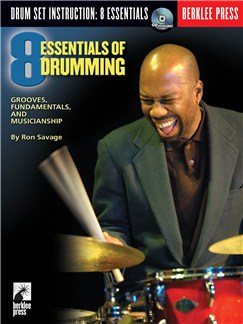 Eight Essentials Of Drumming (Book and CD) Books and CDs | Drums