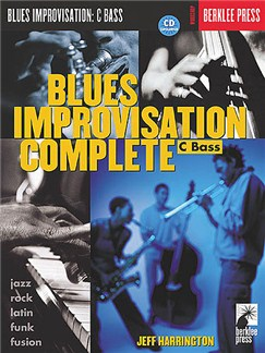 Blues Improvisation Complete: C Bass Books and CDs | Bass Clef Instruments