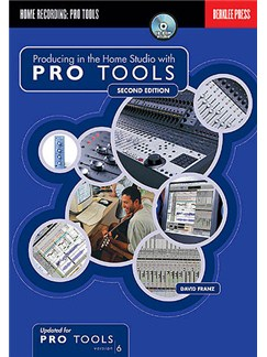 Producing In The Home Studio With Pro Tools Books and CDs |