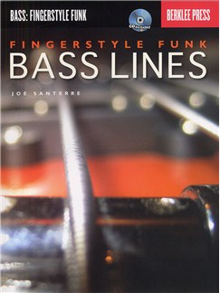 Fingerstyle Funk Bass Lines (Book And CD) Books and CDs | Bass Guitar