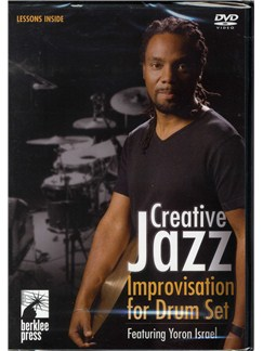 Creative Jazz Improvisation For Drum Set DVDs / Videos | Drums