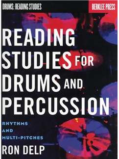 Ron Delp: Reading Studies For Drums And Percussion - Rhythms And Multi-Pitches Books | Drums, Percussion