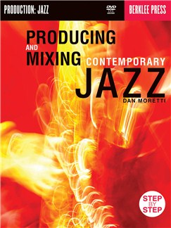 Producing and Mixing Contemporary Jazz (Book And DVD-Rom) Books and CD-Roms / DVD-Roms |