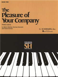 The Pleasure Of Your Company: Book 2 Books | Piano Duet