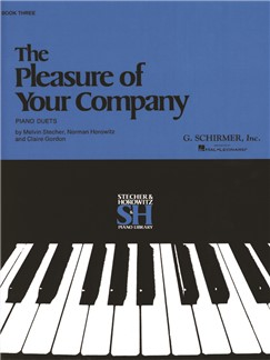 The Pleasure Of Your Company: Book 3 Books | Piano Duet
