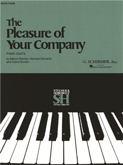The Pleasure Of Your Company: Book 4 Books | Piano Duet