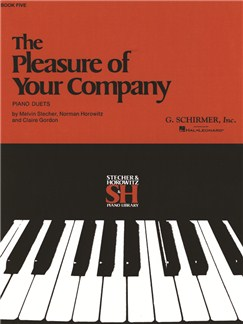 The Pleasure Of Your Company: Book 5 Books | Piano Duet