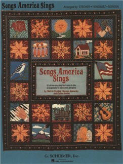 Songs America Sings: 121 Easy Arrangements For Piano/Vocal/Guitar Books | Piano, Vocal & Guitar
