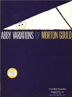 Morton Gould: Abby Variations Books | Piano