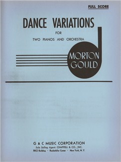 Morton Gould: Dance Variations Books | Orchestra, Piano