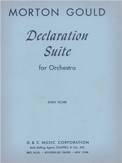 Morton Gould: Declaration Suite Books | Orchestra
